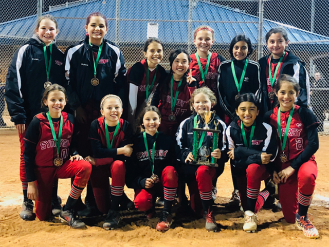 10U-Richardson Wins the Consolation Bracket at St. Paddy's Day Blast
